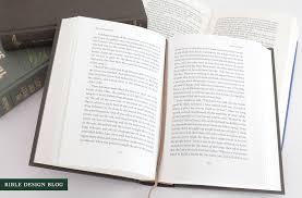 thick writing paper esv reader s bible six volume set br part 3 paper performance esv reader s bible six volume set br part 2 layout