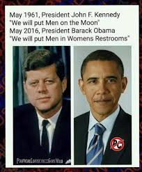 Men Meme - one small step for men into women s restrooms conservative