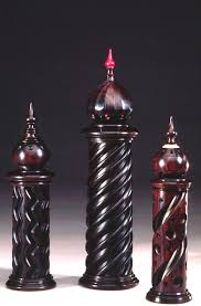 scent bottles turned by jon sauer on the holtzapffel ornamental