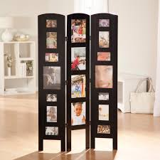 memories photo frame room divider rosewood 4 panel hayneedle