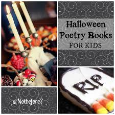 Halloween Poems Scary Halloween Poetry Books For Kids Not Before 7