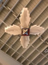 french art deco pendant chandelier by atelier petitot modernism