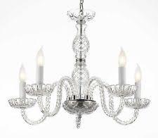 Crystal Ship Chandelier Murano Venetian Crystal Chandelier Ebay