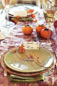 Thanksgiving Buffet Table Setting Ideas 40 Thanksgiving Table Settings Thanksgiving Tablescapes