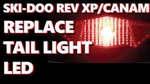 can am outlander tail light bulb ski doo rev xp can am remove tail light replace bulb upgrade led