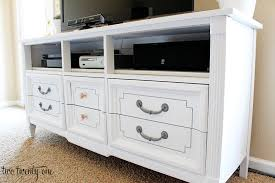 dresser turned tv stand two twenty one