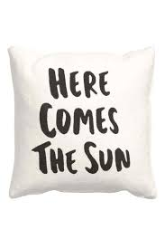 Cushion Covers Without Zips Cushion Cover With Text Print H U0026m Home Decorations Pinterest