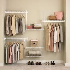closetmaid 5 8 ft closet organizer hayneedle