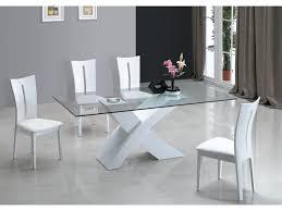 vente unique cuisine table à manger opera mdf laqué blanc http vente unique com p