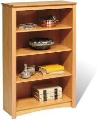 maple bookcases easy home concepts