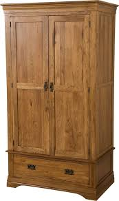 Solid Oak Furniture French Solid Oak Double Wardrobe Oak Furniture King