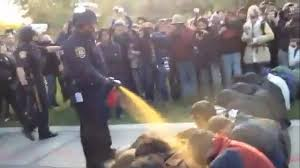 Vancouver Riot Kiss Meme - pepper spray cop becomes internet meme blog abc technology and