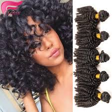 weave on short afro hair brazilian afro kinky curly hair aunty funmi hair spiral curl short