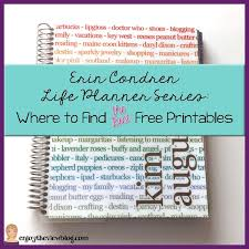 erin condren life planner free printable stickers erin condren life planner series where to find the best free