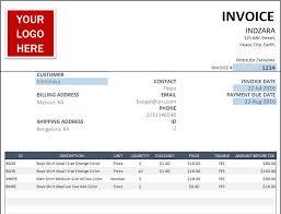Excel Invoice Template Free Occupyhistoryus Outstanding Free Invoice Templates With Foxy Free