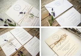 lavender wedding invitations lavender rustic lavender wedding invitation