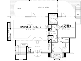 home layouts plan 69009am layout two home plan open living