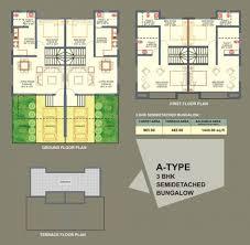 apartments detached building plans residential building designs