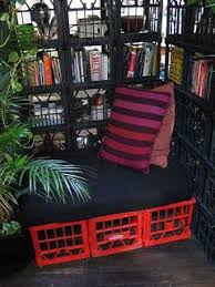Crates For Bookshelves - 112 best milk crate recycler diy u003c3 images on pinterest