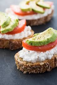 Low Calorie Cottage Cheese by Avocado Toast With Cottage Cheese And Tomatoes The Lemon Bowl
