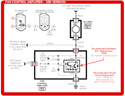 fix the fan control amplifier on your infiniti q45 or nissan maxima