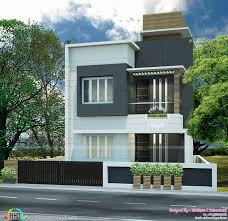 kerala home design house plans 3 bedroom house plans flat roof beautiful small plot flat roof