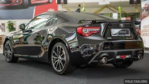 toyota now toyota 86 facelift now in malaysia u2013 rm258k to rm264k