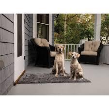 amazon com dog gone smart dirty dog doormat large maroon pet