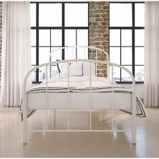 metal white beds you u0027ll love wayfair