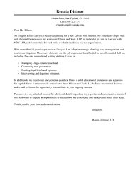 sample cover letter law 15 paralegal examples legal letters within