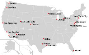 map usa chicago states cities list of sanctuary cities