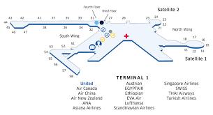 Narita Airport Floor Plan Tokyo Narita Nrt Airport Map United Airlines