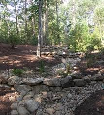 how to build dry creek bed landscape eclectic with runoff