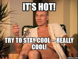 Stay Cool Meme - tips for staying cool in the hot weather workshop