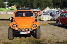 yellow baja bug bug show 2014 spa vw meeting classiccult