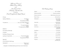 blank wedding program templates template church fan template