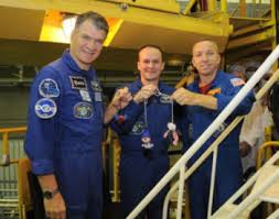 soyuz ms 05 returns station back to full crew nasaspaceflight com