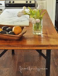 vintage workbench turned kitchen island jennifer rizzo