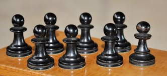 whitty antique chess set
