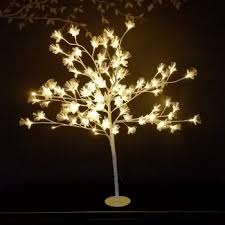 bright tree 100cm optical fiber la vida en led