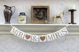 table banners and signs wedding reception banners sweetheart table decorations gold and