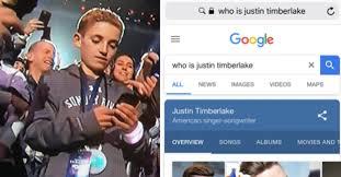 Kid On Phone Meme - everyone loves this kid on his phone during justin timberlake s