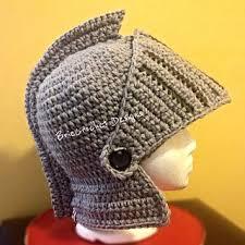 Crochet Pattern Knight Helmet Free   ravelry extra thick knights helmet pattern by briecrochet designs 2013