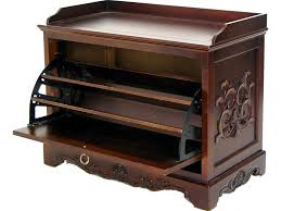 furniture 67 vintage varnish teak entryway wooden bench seat