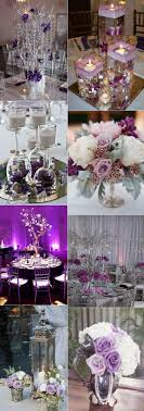 purple and silver wedding stunning wedding color ideas in shades of purple and silver