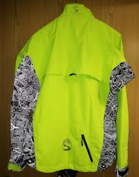 neon cycling jacket showerspass cycling jacket with london map mapping london