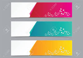 design header paper business paper web banner header tag vector for web and print