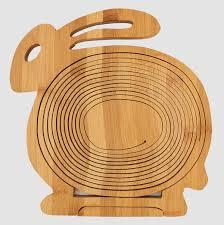 unique fruit bowl bamboo folding fruit basket u2013 adorable home