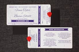 ticket wedding invitations concert ticket wedding invitations be my guest