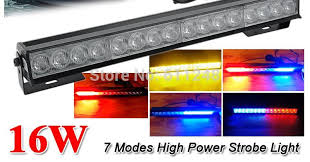 new 16w hight power strobe light fireman emergency